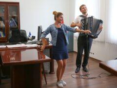 В Красноярске создали первый в мире баян-синтезатор