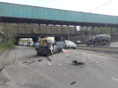 В Магнитогорске насмерть разбился водитель, уходивший от погони