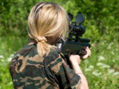 11-летняя девочка из Коркино подстрелила мужчину из винтовки