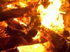 Курянин убил соседа и сжег его тело вместе с домом