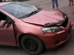 Дрифт на парковке ТЦ «Радуга» в Рубцовске закончился двумя смертями