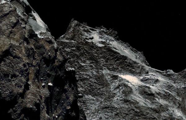 Накомете Чурюмова-Герасименко найдены «морские обитатели» возрастом вмиллиарды лет