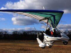 В Подмосковье на коттеджный поселок упал летательный аппарат