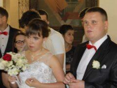 Слепые возлюбленные поженились вопреки всему