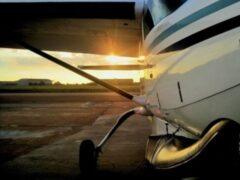 На аэродроме «Протасово» в Рязанском районе упал самолет
