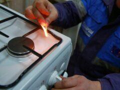 В Протвине из-за вспышки бытового газа пострадал человек