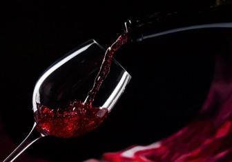 бокал вино