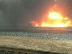 В Оренбуржье произошел пожар на предприятии, есть пострадавшие