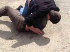 Участники драки на Ворошиловском оказали сопротивление полиции