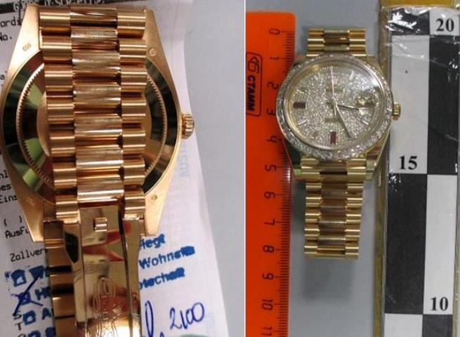 ВКраснодаре пограничники задержали часы Rolex за7 млн руб.