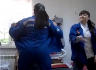 танцы медработниц