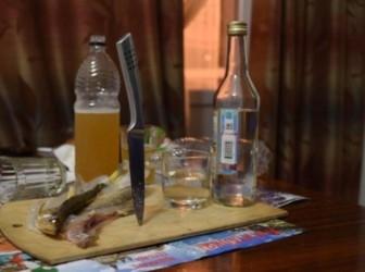 нож алкоголь