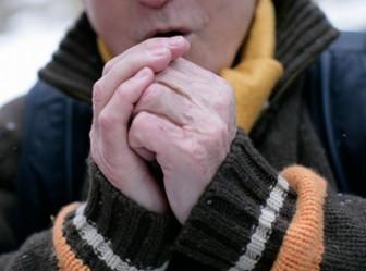 холод замерз греет руки