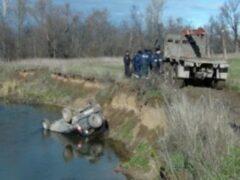 В Аше из реки извлечен автомобиль с телом пропавшего мужчины