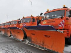 Глава Тамбова проверил готовность дорожной техники к зиме