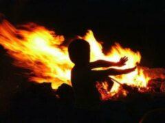 В Волгоградской области в результате пожара пострадал 3-летний ребенок