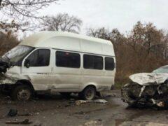 В Ульяновске в ДТП с маршруткой пострадали 11 человек