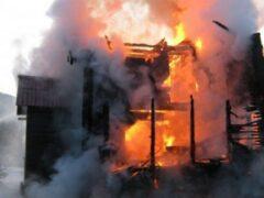 40 тюков сена сгорели в Ульяновской области