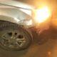Под Усинском на скользкой дороге столкнулись Mitsubishi и Volkswagen