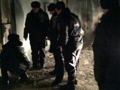 Омский полицейский спас щенков с помощью масла и веревки