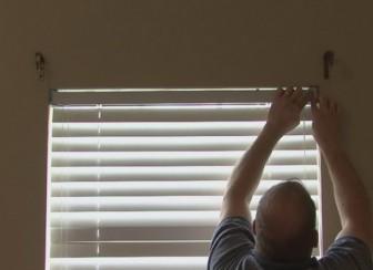жалюзи окно
