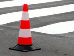 В Хакасии автоледи на иномарке врезалась в «ВАЗ» и перевернулась
