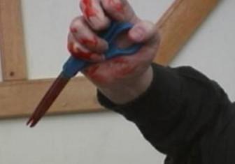 ножницы кровь