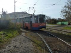 Таганрог: пострадала пьяная женщина, попав под трамвай № 5