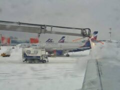 Рейсы «Аэрофлота» отменены из-за аномальных погодных условий