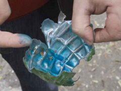 У пассажира метро в рюкзаке нашли гранаты. Особенные