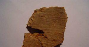 осколки древней глиняной посуды