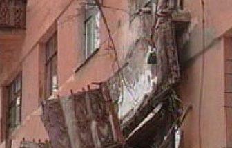 дом обвалился балкон