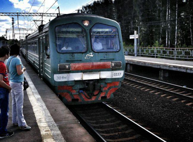 __электричка поезд