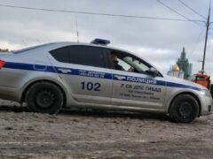 В Москве в багажнике «Мерседеса», устроившего ДТП с 8 машинами, нашли человека