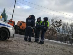 В Рязанской области Audi влетела в автомобиль ДПС