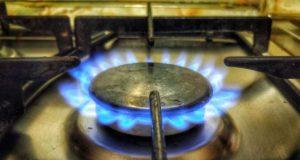 __газ плита огонь