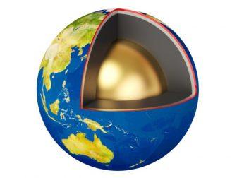 ядро Земля