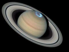На фоне Солнца кольца Сатурна «стали серебряными»