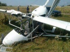 В Саратовской области упал самолет, пострадал пилот