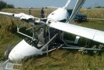 крушение самолет Бекас
