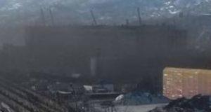 __темное облако угольная пыль Находка