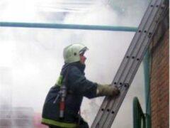 Универмаг «Пассаж» загорелся в центре Петербурга