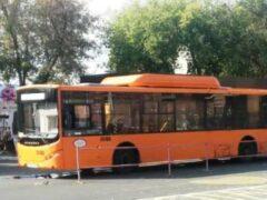 ГИБДД: в Оренбурге Volgabus наехал на ногу 64-летней женщине