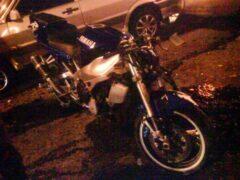 В Башкирии пьяный мотоциклист без прав слетел в кювет