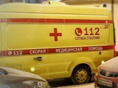Два КамАЗа столкнулись в Хабаровске, пострадал человек