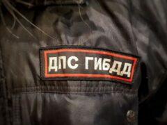 В Челябинске таксист врезался в мотоцикл ДПС
