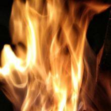 В Петербурге тушат пожар в Спасском переулке