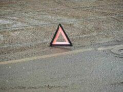 Водитель самосвала устроил дорожный коллапс в Хабаровске