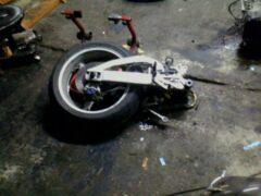 Мотоциклист пострадал в ночном ДТП в Ростове