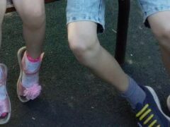 В Хабаровске девочка получила рану на детской площадке